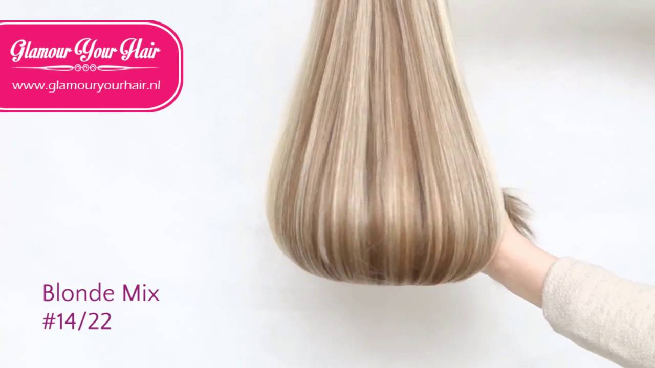 Hairextensions Colour Dark Blonde Ash Blonde 1422 By