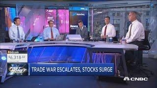 Trade war escalates, stocks surge: Why?