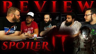 """IT"" SPOILER DISCUSSION and MOVIE REVIEW!!"