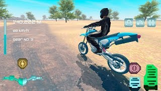 Cross Motorbikes - Bike Racing Games - Gameplay Android free games