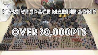 Massive 31,000pt Space Marine Army - 2015 update (WH40K)