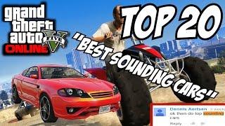GTA 5 PS4 - Top 20 Best Sounding Cars!! (GTA V Best Sounding Cars)