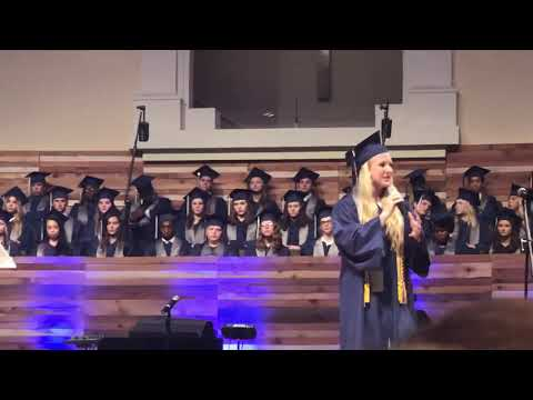 Elizabeth Winter. CHEF GRADUATION SPEECH 2019