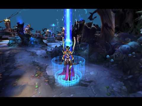 League of Legends - Karma (Recall & Respawn Animation)
