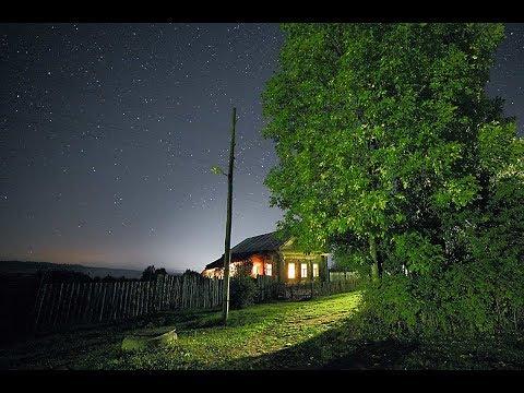 Спускается вечер над нашим селом