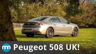 2018 Peugeot 508 UK Review! New Motoring