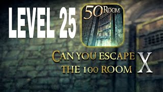 Can You Escape The 100 room X level 25 Walkthrough