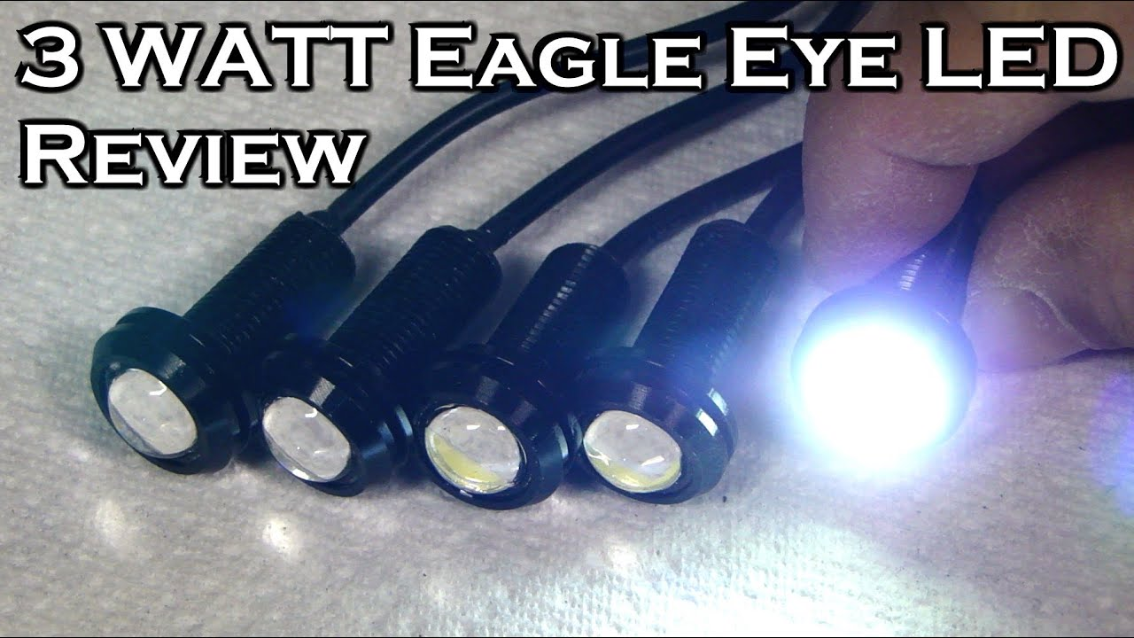 Uxcell Wiring Diagram 3 Watt Eagle Eye Led Light Review Youtube