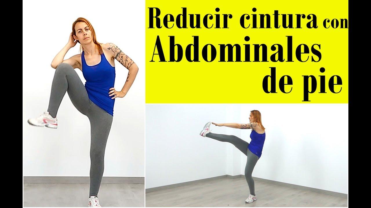 Ejercicios para reducir cintura y abdomen Abdominales de