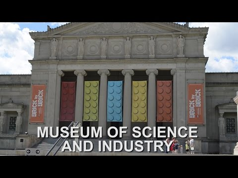 MUSEUM OF SCIENCE AND INDUSTRY - BRICK BY BRICK LEGO EXHIBIT