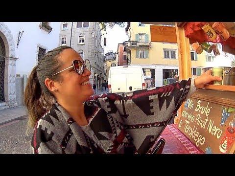 Passadinha em TRENTO e FINALMENTE PARAMOS! - VIAGEM DE MOTORHOME PELA EUROPA - ITÁLIA - Vlog #160