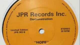 JPR Productions - Hope (Cause I've Learned To Cope)