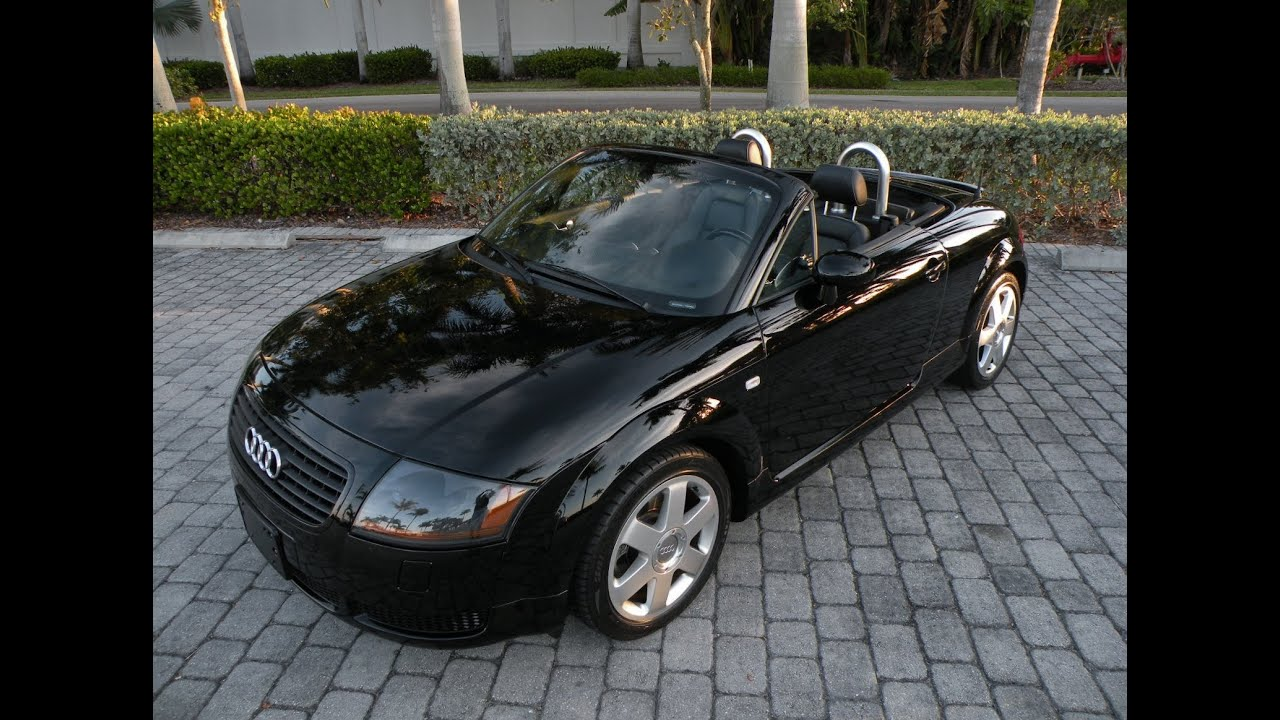 2001 audi tt roadster convertible for sale auto haus of fort myers florida youtube