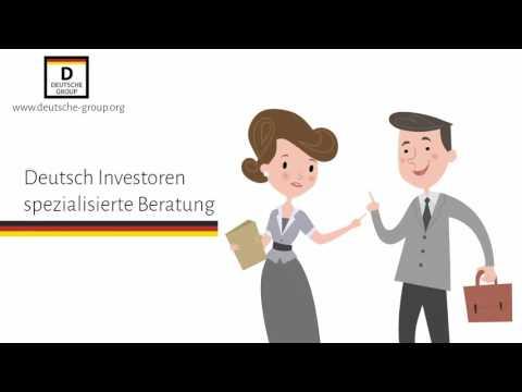Investiert in allen wichtigen Destinationen in der Welt mit der Deutsche Group