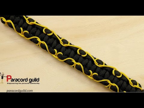 Stitched Paracord Bracelet Fancy Or Musical Youtube