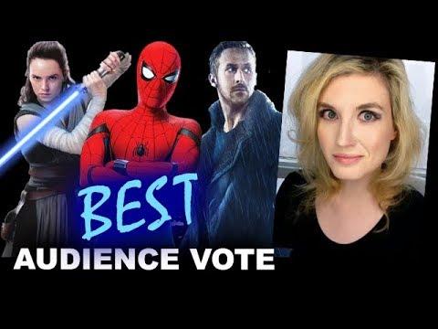 Top Ten Best Movies of 2017 - AUDIENCE VOTE