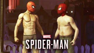 Marvel's Spider-Man PS4 - Shirtless Spider-Man Easter Egg ( Greg Miller )