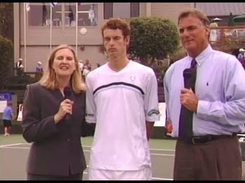 Andy Murray 2005 First U.S. Pro Circuit Finals ( Seascape Sports Club )