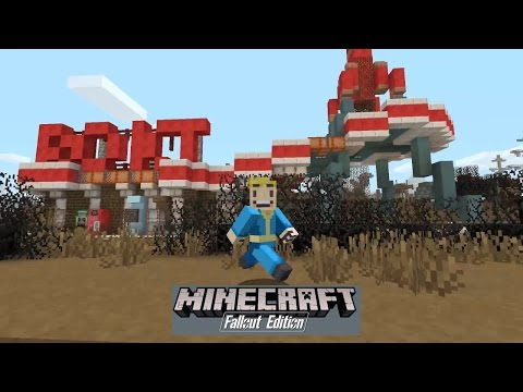 Minecraft Fallout Edition - Fallout Mash Up Pack Skins and World