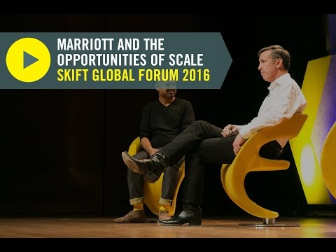 Marriott CEO Arne Sorenson at Skift Global Forum 2016