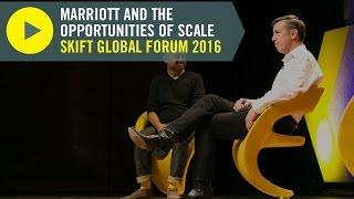 Marriott CEO Arne Sorenson at Skift Global Forum 2016