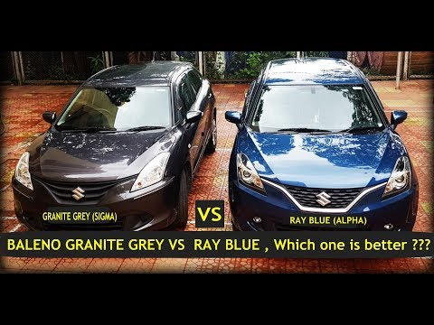 Baleno Granite Grey VS Ray Blue