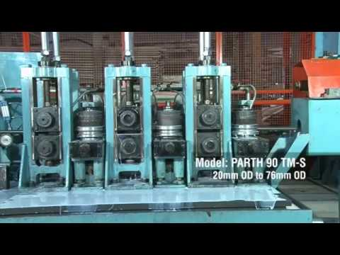 Tube Mill For Mild Steel/carbon Steel (Parth 90 TM-S) With Coil Accumulator
