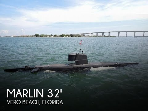 Used 1987 Marlin 32 Diesel Electric S101 Manned Submarine for sale in Vero Beach, Florida