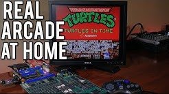 How to Play, Capture and Stream Real Arcade Games at home with a Supergun - No Emulation ! | MVG