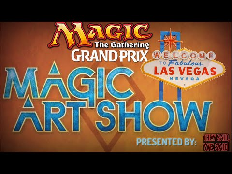 MTG: The Hive Mind, Magic Art Show, Grand Prix Las Vegas 2017