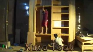 Making A Bookcase - Nusateak.com