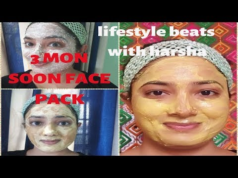 3 Monsoon face pack/Reduce oil/Face pack tutorial/Lifestyle beats with Harsha/malayalam/ thumbnail
