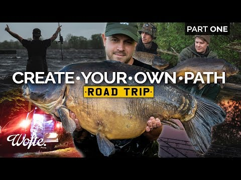 Fishing for HUGE carp in Europe Part One | Create Your Own Path Road Trip | Wofte CARP FISHING