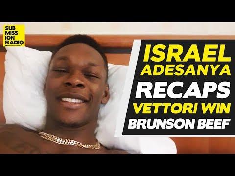 """Israel Adesanya Blasts """"F**kboy"""" Marvin Vettori After Slap Threat, Derek Brunson's Tweets"""