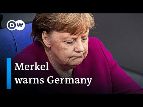 'The hardest decisions of my career' - Angela Merkel addresses German Parliament | DW News