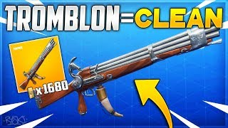 Fortnite: This Weapon Is Clean on Fortnite Save the World!! - ( The Tromblon)