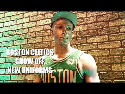 Track Talk: Boston Celtics Show Off New Uniforms by Nike