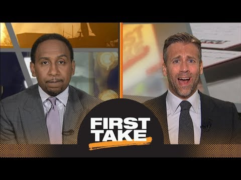 Stephen A. and Max react to Carmelo Anthony and Thunder parting ways this summer | First Take | ESPN
