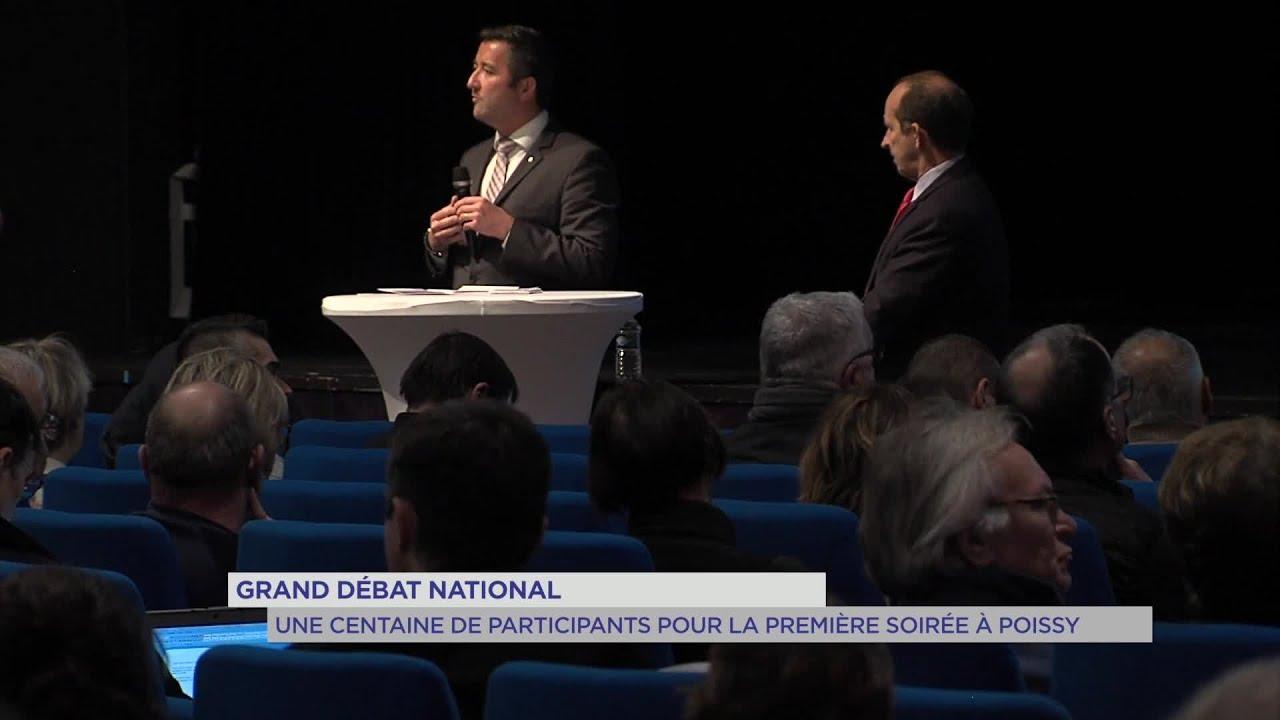 Yvelines | Grand débat national : Une centaine de participants pour la première soirée à Poissy