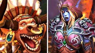 Horde Leaders REACT™ to Sylvanas Busting Baine & Nathanos Killing Zelling (Rexxar to Call Thrall?)