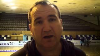 Gulyás István a Tatabánya elleni meccsről