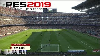 PES 2019 Demo FULL HD Gameplay (Xbox One, PS4, PC)