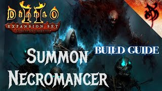 Summon Necromancer Full Build Guide - Diablo 2 - Xtimus