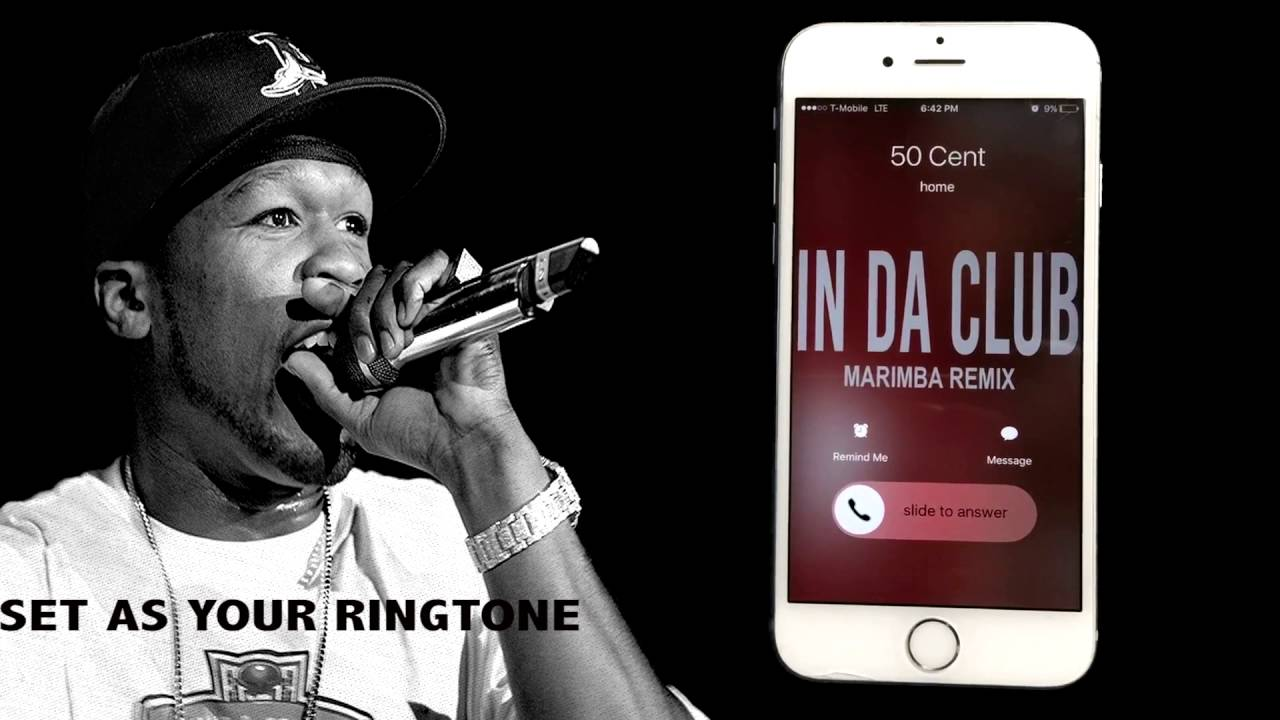 50 Cent In DA Club Marimba Remix Ringtone - YouTube
