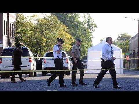 Denver Police investigate homicide at 24th St. and Curtis St.