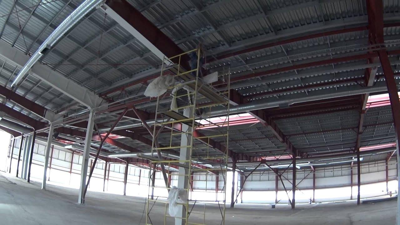 Огнезащита металлоконструкций с использованием огнезащитных красок на органической основе №4