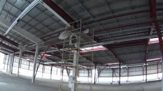 Огнезащита металлоконструкций с использованием огнезащитных красок на органической основе №4(Наша организация в данном видео занимается проведением работ по огнезащите несущих металлических констру..., 2016-01-11T20:29:04.000Z)