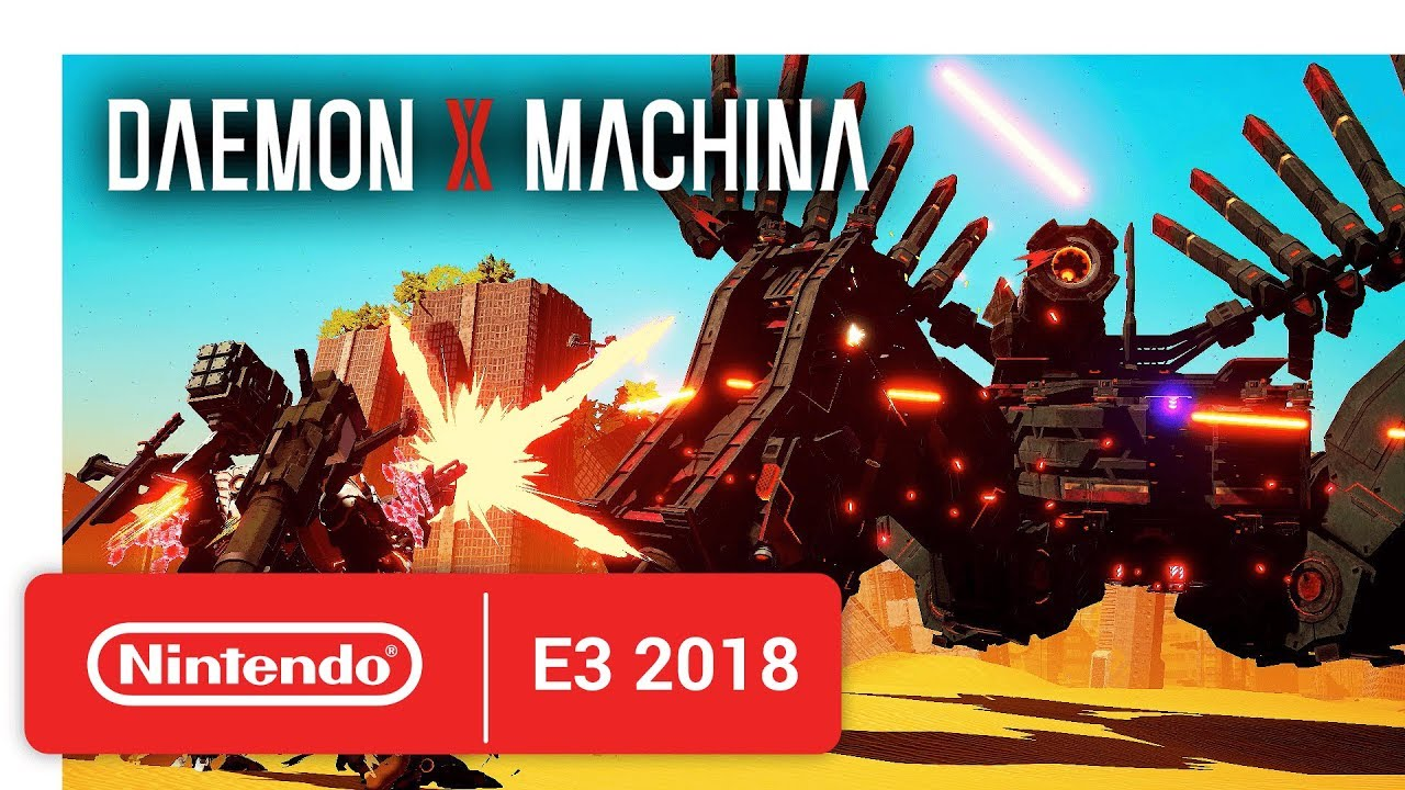 DAEMON X MACHINA - Official Game Trailer - Nintendo E3 2018 - YouTube