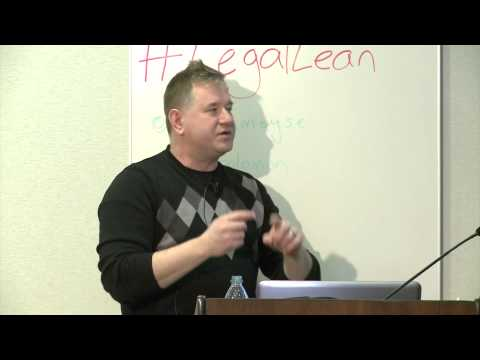 #LegalLean at MaRS: Mitch Kowalski - The Great Legal Reformation