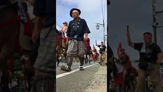 福島県浪江町 標葉郷御野馬追祭凱旋行列